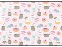 Pequeño dulce pusheen - Pequeño gatito lindo llamado Pusheen (lavadora)