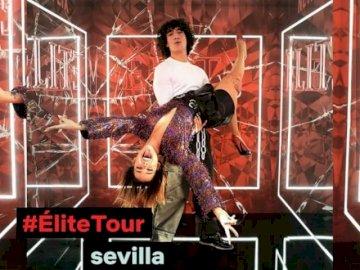 Lucrecia i Valerio - Lucrecia i Valerio z serialu  szkoła dla elity