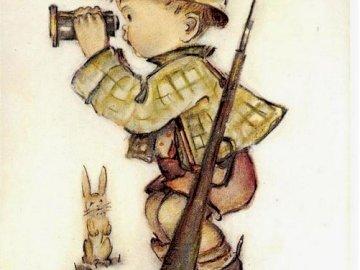malý myslivec na lovu - malý myslivec na lovu