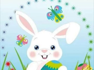 EASTER BUNNIES - WE HAVE FUN AT HOME