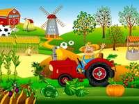 Munca de fermier în mediul rural