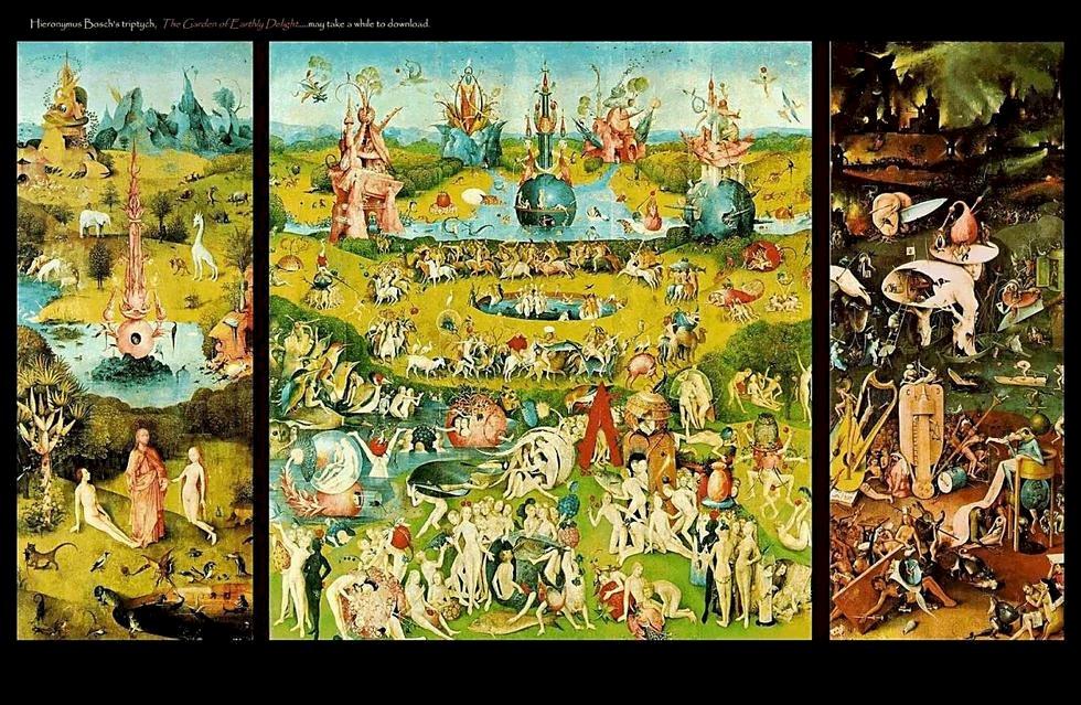 Paradies - Puzzle für Kinder. Die Schöpfung Gottes im Bereich der Religion aus künstlerischer Sicht zu arbeiten (5×3)