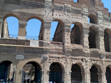 Colosseum in Rome - Colosseum - amphitheater in Rome