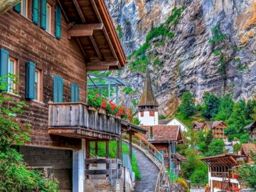 Lauterbrunnen - Lauterbrunnen in Switzerland