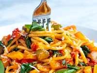 espaguetis - deliciosos espaguetis para organizar