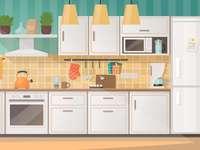 equipo de electricidad en la cocina
