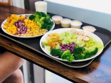 Salat - Gesund werden - Gemüsesalat. Indien