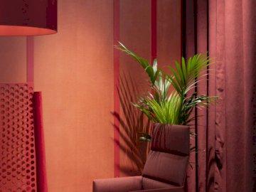 Czerwony salonik - Aranżacja salonu w czerwonych barwach