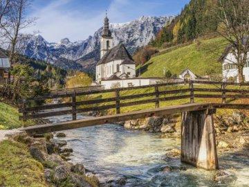 Ramsau bei Berchtesgaden - Ramsau bei Berchtesgaden. Miejscowość i gmina w Niemczech, w kraju związkowym Bawaria.