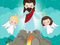 Jézus feltámad