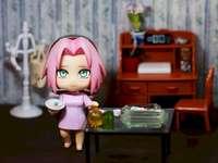 Sakura w domu