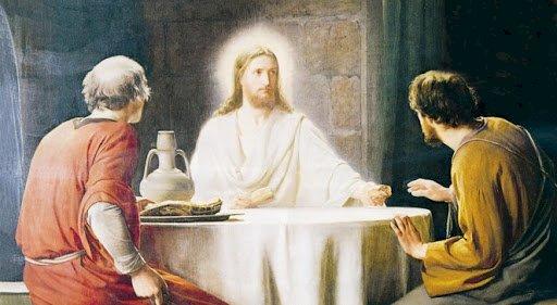 Zmartwychwstały Jezus ukazuje się uczniom