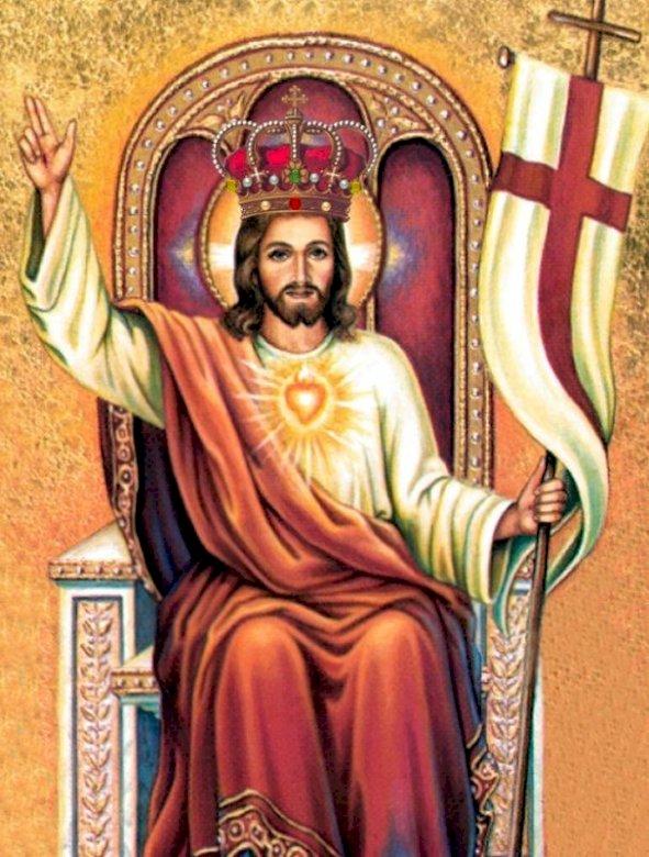 Мари-до - Исус Христос, Цар на небето и земята (13×13)