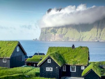 Faroe Islands - Faroe Islands, beautiful view