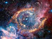 UNIVERSE - THIS UNIVERSE PUZZLE CONTAINS 6 PIECES