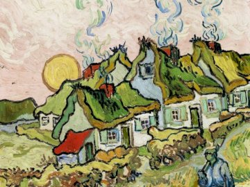 Obraz malowany farbą olejną - Sztuka, farby olejne, puzzle sztuka