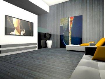 Aranżacja pokoju dziennego - Puzzle wnętrza, projekt salonu