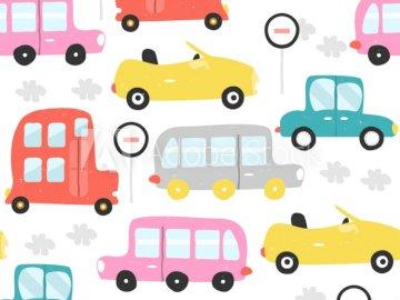 SÜSSE AUTOS - Dies ist ein Muster von Autos :)