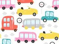 SWEET CARS - CECI EST UN MOTIF DE VOITURES :)