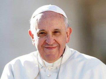 Franciszek - Papież - Papież Franciszek puzzle dla dzieci 0-3