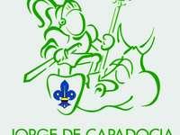 Saint George 2 - Saint George. Saint George Scout, for Saint George's Day activity.