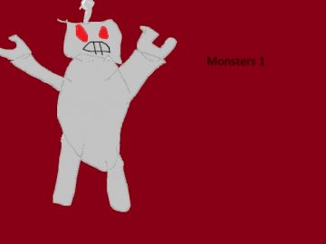 monster 1 paint - this is monster # 1 I will do more of them
