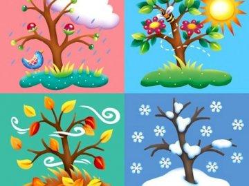 Le stagioni - Componi il puzzle e scopri cosa appare!
