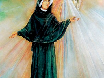 Merciful Jesus - Divine Mercy - image of Merciful Jesus - Saint. Faustina