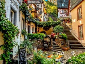 Germany. Beilstein. - Landscape puzzle.