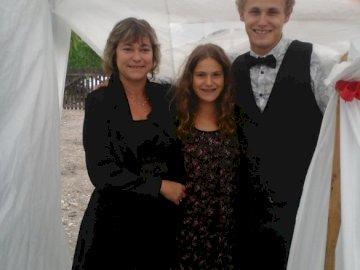 loic maman et lilou - reunion de famille pineuilh