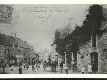 mon est pierre surnommé pierrot - village qui présente son aspect des années 1910