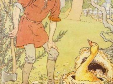 L'oca d'oro - Un puzzle divertente e divertente