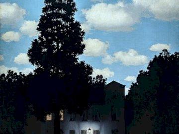 René Magritte, Empire de lumière - Surréalisme 20e siècle