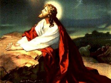Preghiera a Ogrójiec - Il Signore Gesù prega nell'oliveto