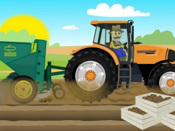 Farmer's work - Arrange the puzzles related to the farmer's work