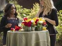 Caroline och Bonnie - Caroline och Bonnie från serien Vampire Diaries