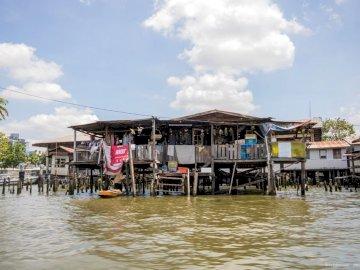 Thonburi à Bangkok - Croisière sur les canaux de Thonburi à Bangkok