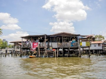 Thonburi w Bangkoku - Rejs kanałami Thonburi w Bangkoku