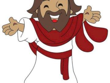 Zmartwychwstanie - Obraz Zmartwychwstałego Jezusa dla dzeci