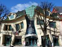 Scheve huis in Sopot - Crooked house in Sopot, architectuur,