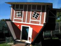 Къща с главата надолу Władysławowo - Долна къща в Władysławowo, Полша