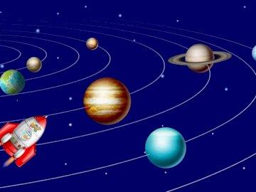 Solar system - Solar system - space.