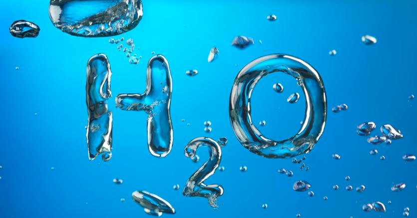 WATER PUZZLE - chemical formula of water