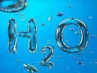 WASSERPUZZLE - WASSER_chemische Formel. Chemische Formel von Wasser. Die chemische Formel von Wasser.