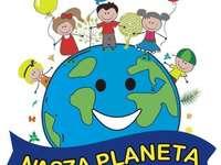 Puzzle Jour de la Terre - Terre - notre planète Organisez l'image. Dites ce que vous voyez dessus.  Notre terre