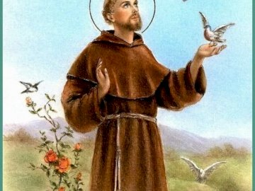 St. Franciszek Patron of Ecology - Compose puzzles about Saint Francis, who is the patron of ecology