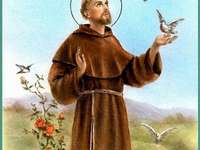 St. Franciszek Beschermheer van de ecologie - Stel puzzels samen over Saint Francis, de beschermheilige van de ecologie
