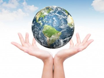 Earth Puzzle - Make a picture of our planet Earth.