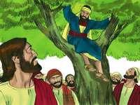 Zaqueo y Jesús - La conversión de Zaqueo en Jericó ¿Por qué se quedó Jesús con Zaqueo?.  El encuentro de Jesús
