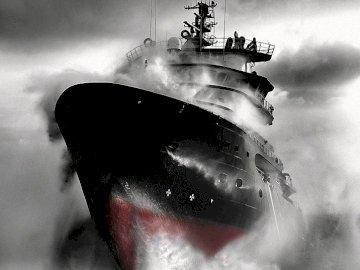 Boat29 - łódź w burzy
